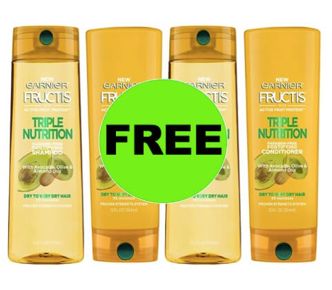 PRINT NOW for FOUR (4!) FREE Garnier Fructis Hair Care at Target! (Ends 3/10)