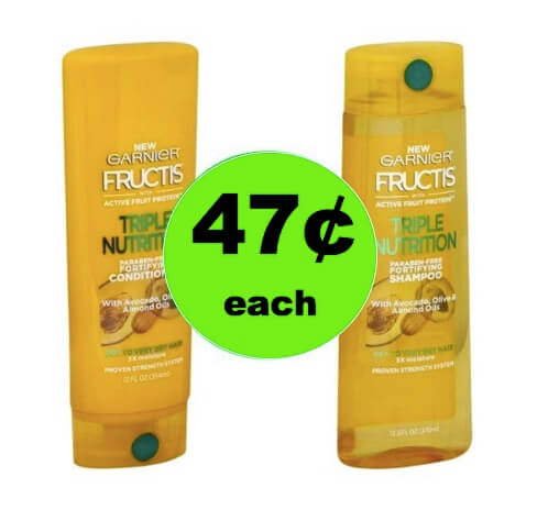 STOCK UP on 47¢ Garnier Fructis Hair Care at Walgreens (at Target too)! (Ends 3/10)