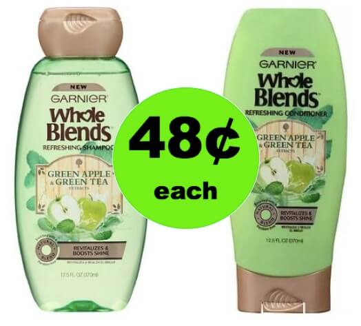 Take Care of Your Hair with 48¢ Garnier Whole Blends Hair Care at Walgreens! (Ends 3/17)