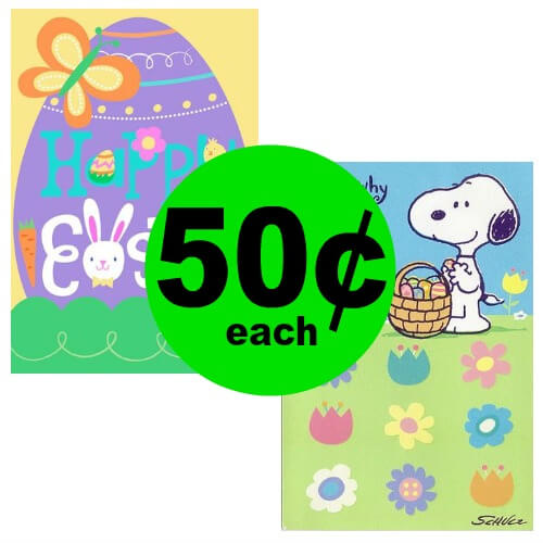 Publix Deal: 🐣 50¢ Hallmark Easter Cards! (Ends 4/20)