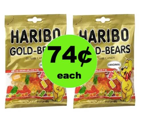 Pick Up Yummy 74¢ Haribo Gummy Candy at Walgreens! (Ends 4/7)