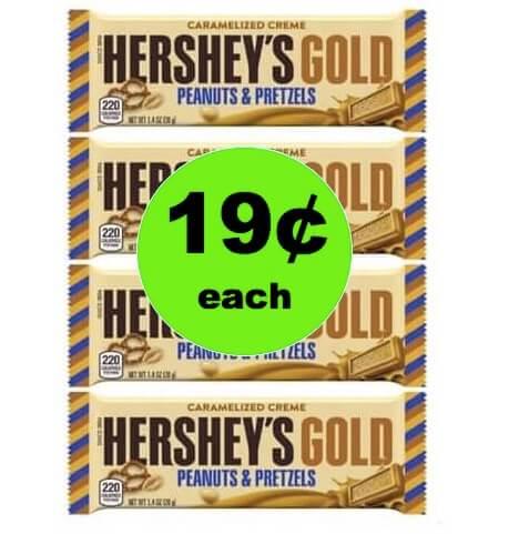 CHEAP CHOCOLATE ALERT: Snag 19¢ Hershey's Gold Bars at Walgreens! (Ends 3/24)