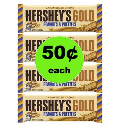 Put Gold in Their Easter Baskets with 50¢ Hershey's Gold Bars at Winn Dixie! (Ends 3/6)