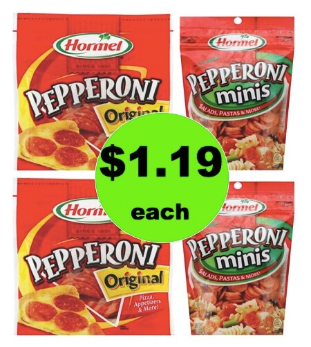 Serve Up Homemade Pizza with $1.19 Hormel Pepperoni at Target (No Coupons Needed)! (Ends 3/24)