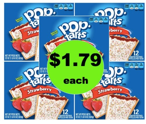 Breakfast is Easy and CHEAP with $1.79 Kellogg's Pop Tarts 12 Count Boxes! (Ends 3/31)