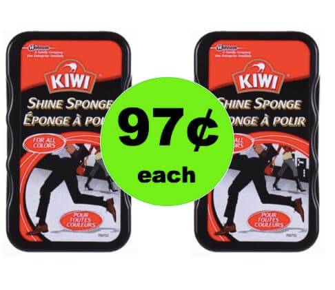 Make Your Shoes Shine with 97¢ Kiwi Shine Sponge at Walmart!
