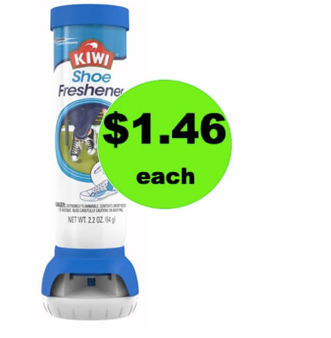No More Stinky Shoes with $1 KIWI Shoe Freshener at Walmart (Save $4 After Rebate)!