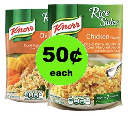 Pick Up TWO (2!) Knorr Pasta or Rice Sides Only 50¢ Each at Winn Dixie! (3/14-3/16)