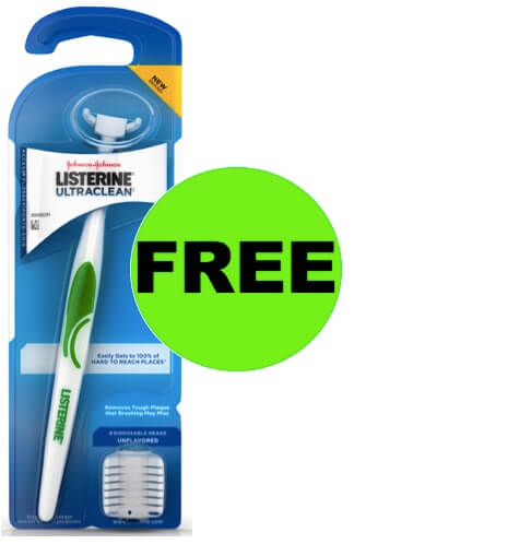 FREE Listerine Ultraclean Flosser at Walmart! (Ends 4/10)