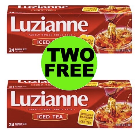 TWO (2!) FREE Boxes of Luzianne Tea Bags at Winn Dixie! (3/21-3/27)
