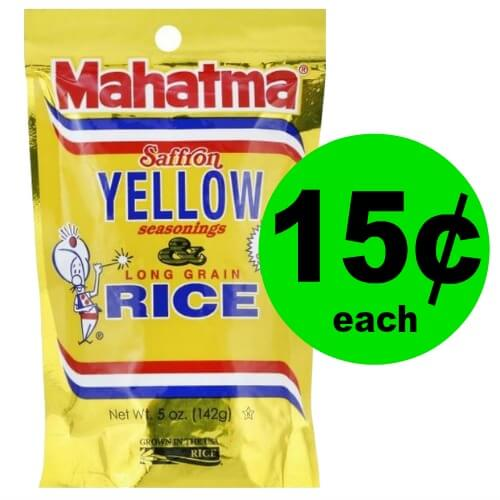 Don't Miss Out on 15¢ Mahatma Yellow Rice Mix at Publix!