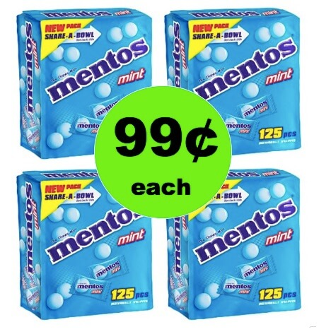 EASTER CANDY ALERT! Get 99¢ Mentos Mint Candies Boxes at Target (Reg. $5)! (Ends 3/21)