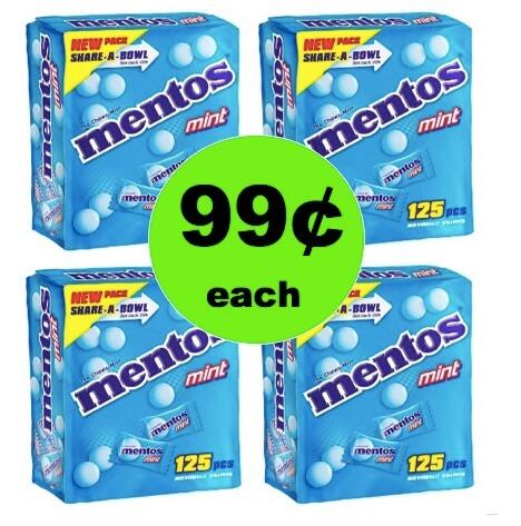 EASTER CANDY ALERT! Get 99¢ Mentos Mint Candies Boxes at Target (Reg. $5)! (Ends 3/21)