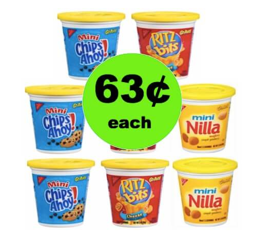 Snack on the Run with 63¢ Nabisco Go Cups at Winn Dixie! (Ends 3/13)
