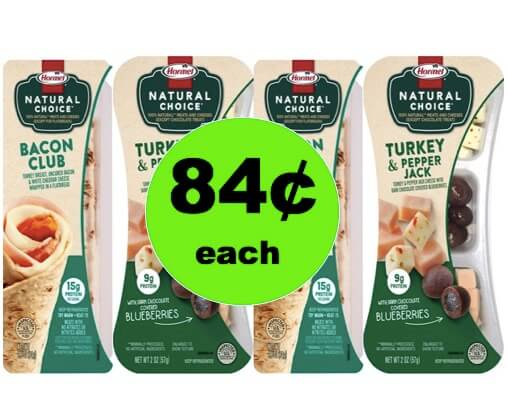 Be Ready for Those Snack Attacks with 84¢ Hormel Natural Choice Snacks at Target! (Ends 3/17)