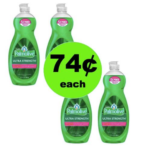 Clean Dishes for CHEAP with 74¢ Palmolive Dish Soap at Target! (Ends 4/7)