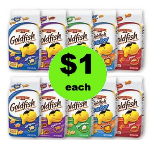 Super Snacking Deal with $1 Pepperidge Farm Goldfish at Winn Dixie! (Ends 3/27)