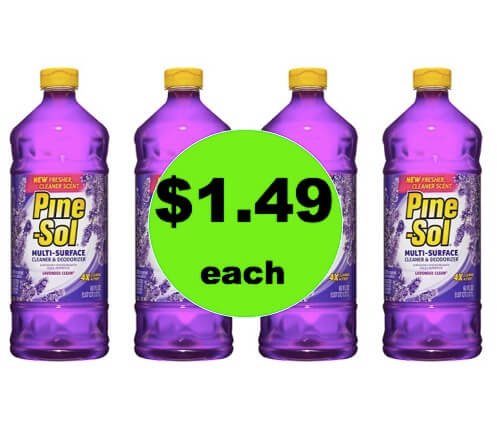 Smell the Clean with $1.49 Pine-Sol Cleaners at Target! (Ends 3/31)