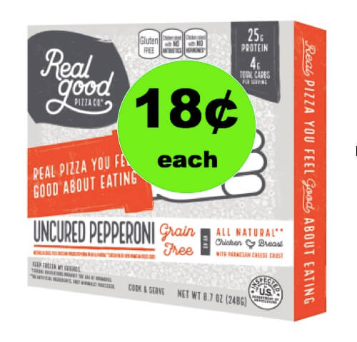 (NLA) Bring on Pizza Night with 18¢ Real Good Foods Low Carb Pizza at Walmart! (Ends 5/22)