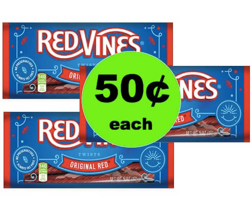 Snag 50¢ Red Vines Red Licorice Candy at Target (after Rebate)! (Ends 9/30)