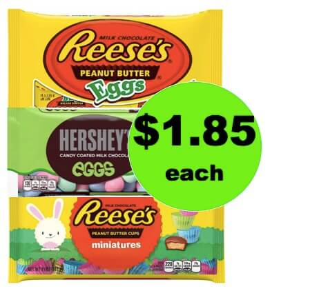 EASTER BASKET ALERT! Pick Up $1.85 Reese's Easter Candy Bags at Target! (Ends 3/10)