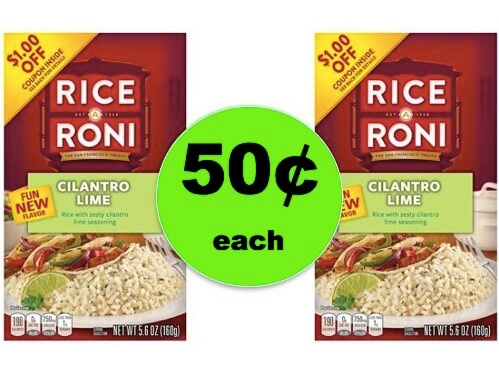 Make Dinner Zesty with 50¢ Rice A Roni Cilantro Lime at Winn Dixie! (Ends 3/6)