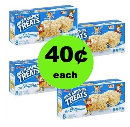 Enjoy 40¢ Rice Krispie Treats at Winn Dixie! (3/7-3/11)