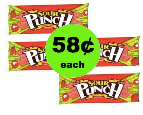 Pucker Up for 58¢ Sour Punch Candy Straws at Walgreens(after Rebate)! (Ends 3/17)