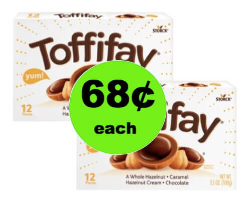 Enjoy Movie Night at Home with 68¢ Toffifay Candy at Walmart! (Ends 3/23)