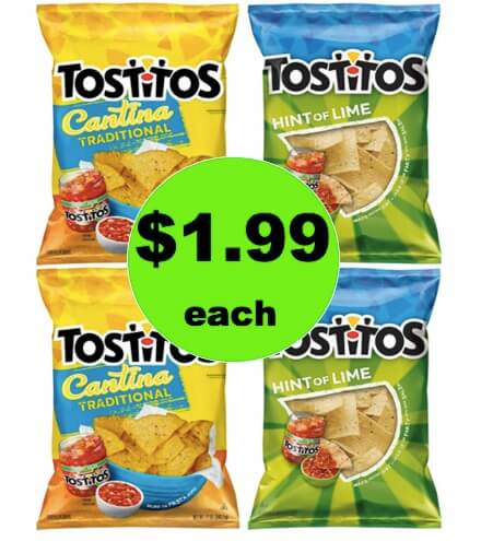 Be Ready for a Party with $1.99 Tostito's Tortilla Chips at Winn Dixie! (3/17-3/18)