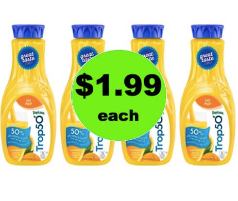 Pour a Glass of Sunshine with $1.99 Tropicana Orange Juice at Winn Dixie! (3/10-3/11)