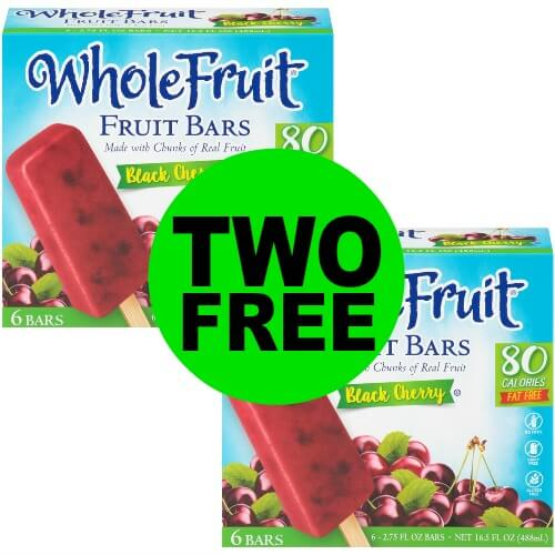Fabulous Frozen Treat! TWO (2!) FREE + $.11 OVERAGE for Whole Fruit Fruit Bars at Publix! 3/22 – 3/31 (or 3/21 – 3/31)
