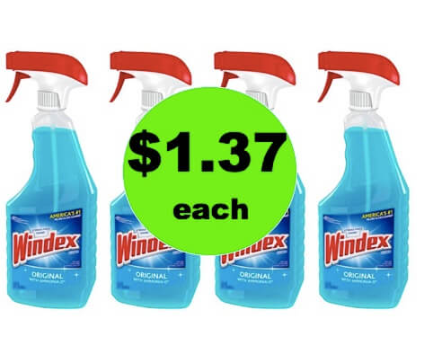 Make It Shine with $1.37 Windex Glass Cleaner at Walmart! (Ends 3/30)