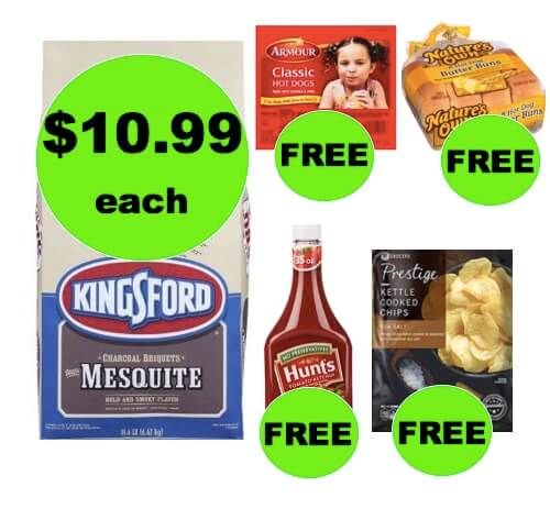 Winn Dixie What A Deal: Buy ONE (1!) Kingsford Charcoal Briquettes, Get FREE Hot Dogs, Buns, Ketchup and Chips! (3/21-3/27)