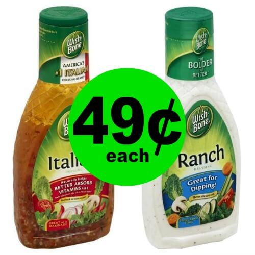 Dress it Up With 49¢ Wish Bone Dressing at Publix! (Ends 3/4)