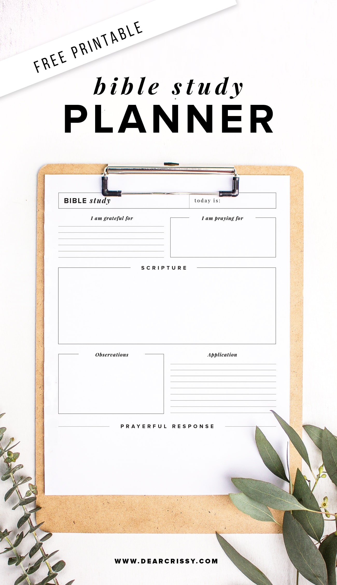 graphic regarding Study Planner Printable called Did Your self Watch People 4 (4!) FREEbies: Breathe Directly Strip