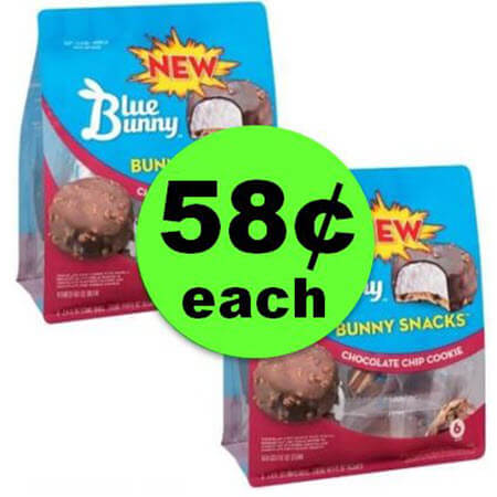 Woo Hoo! Blue Bunny Bunny Snacks $.58 Each at Publix (Reg. $5+)! (Ends 4/24 or 4/25)