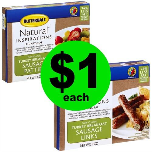 Print NOW and Fry Up $1 Butterball Fully Cooked Sausage at Publix! (Ends 4/3 or 4/4)