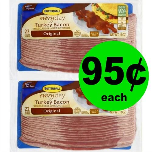 Butterball Turkey Bacon, 95¢ at Publix! (Ends 4/10 or 4/11)