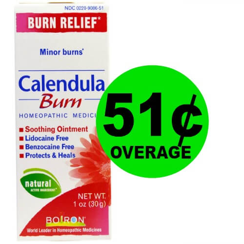 get ready for 51 u00a2 overage on calendula or arnicare cream at cvs   5  27 2