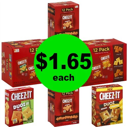 Cheez-It Tray Packs & Duoz, $1.65 Each at Publix! (4/19 – 4/22 or 4/18 – 4/22)