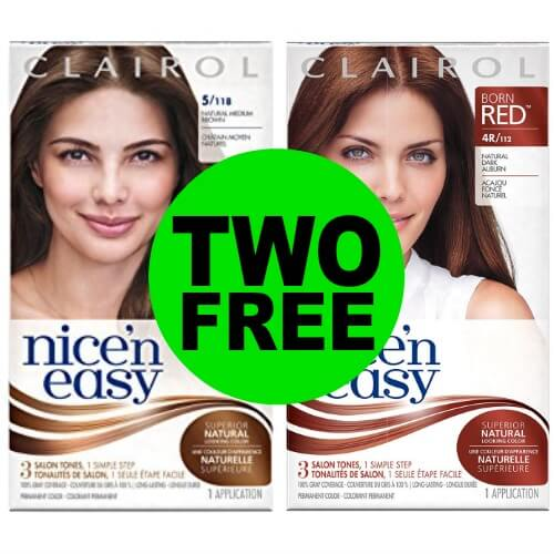 Print for (2) FREE Clairol Hair Color at CVS! (4/22-4/28)