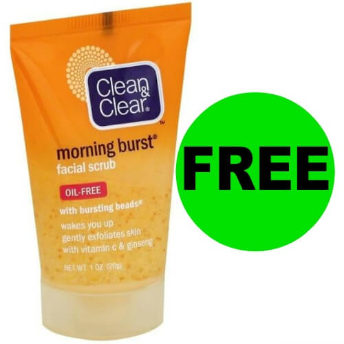 ?♂️Get Ready To Get Your FREEbie Clean & Clear Facial Scrub At Publix! (5/19-6/1)