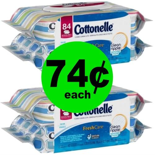 Stay Fresh with Cottonelle Fresh Care Refills for 74¢ Each at CVS! (Ends 4/7)