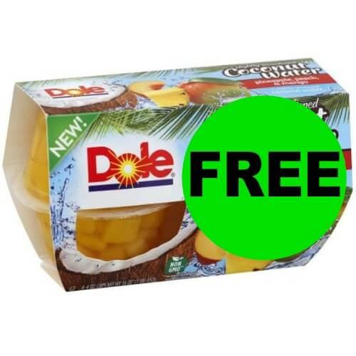 Dole Fruit Cups Freebie at Publix! (4/11-4/17 or 4/12-4/18)