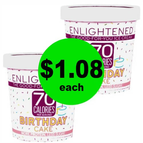 Sweet! Enlightened Ice Cream Only $1.08 Each (Save $4+) at Publix! (4/11-4/17 or 4/12-4/18)