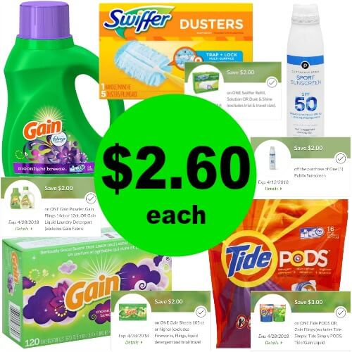 Fast FIVE (5!) Publix Digital Coupon Deals! 5!) Products for $12.99 at Publix! (4/4-4/10 or 4/5-4/11)