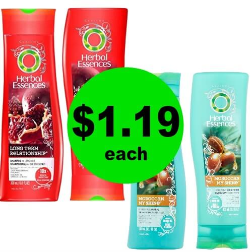Herbal Essences Hair Care, $1.19 at Publix! (Ends 4/20)
