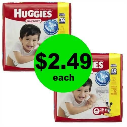 Huggies Jumbo Diapers, $2.49 at Publix! 4/26 – 5/2 (or 4/25 – 5/1)