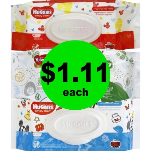 Huggies Wipes Soft Packs, $1.11 at Publix! (5/23 – 5/29 or 5/24 – 5/30)